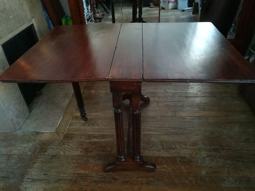 Table pliante Louis-Philippe en acajou 70 Paris 14 (75)