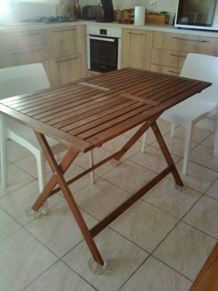 table pliante en teck 0 Libourne (33)
