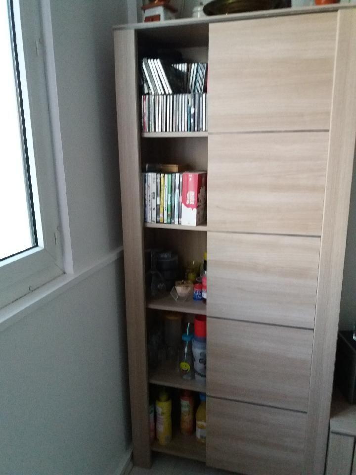 table pour télé et armoire de rangement en bois  130 Saint-Germain-en-Laye (78)