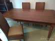 Table à rallonges en bois style exotique , + 4 chaises   Montolivet (77)