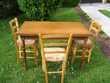 table à rallonges + chaisses Pont-de-Veyle (01)
