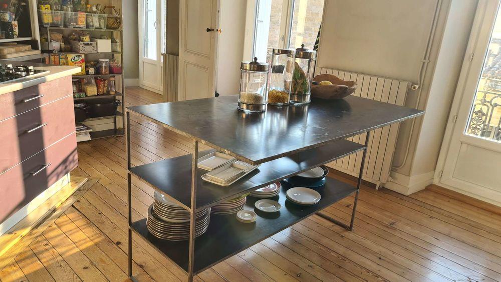 Table de rangement pour cuisine 160 Bordeaux (33)
