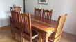 Table rectangulaire et chaises en acacia massif