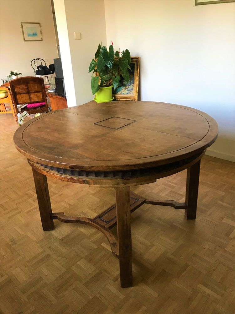 Table de repas extensible La Maison Coloniale en bois massif Meubles