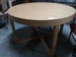 Table ronde 1 allonge