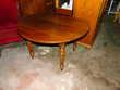 table ronde ancienne en chéne