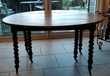 TABLE RONDE ANCIENNE NOYER Meubles