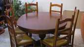 Table Ronde avec 6 chaises 350 Port-de-Bouc (13)