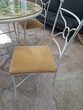 Table Ronde avec 4 chaises Meubles