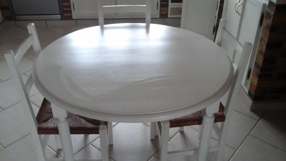 table ronde bois  120 Gujan-Mestras (33)