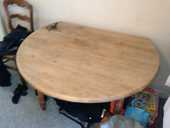 Table ronde en bois 20 Berck (62)