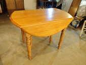 Table ronde en bois avec rallonges et abattants 300 Brest (29)