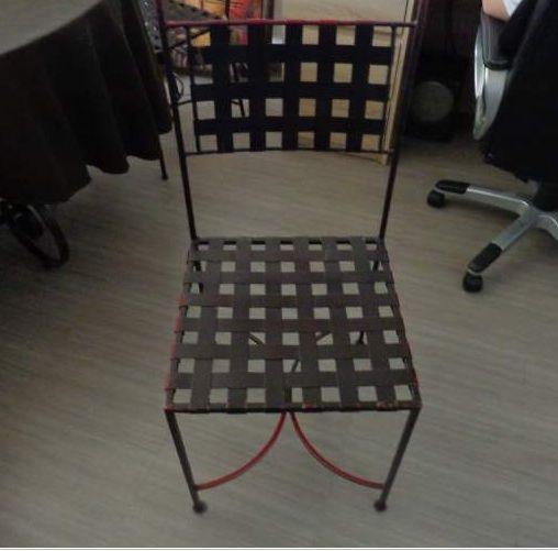 Achetez table ronde et occasion annonce vente for Chaise longue fer forge occasion