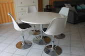 table ronde et ses 4 chaises 350 Vitré (35)