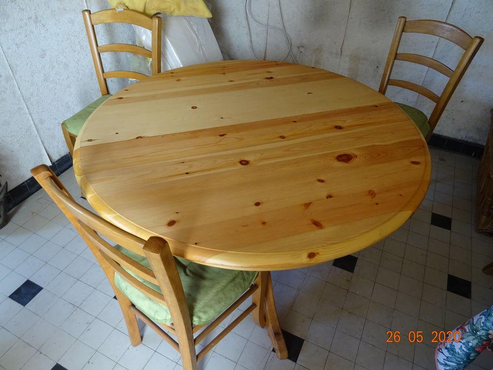 TABLE RONDE  5 CHAISES 100 Créteil (94)