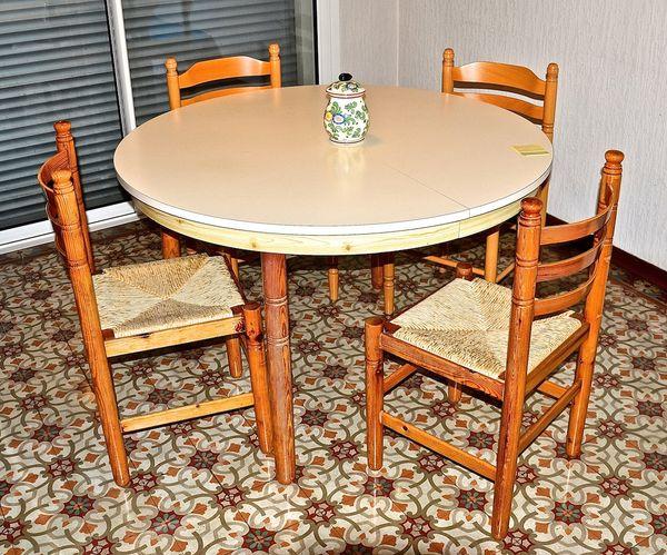 Achetez Table Ronde Occasion Annonce Vente A Saint Gely Du Fesc
