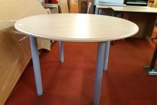 TABLE RONDE EN HÊTRE 120 MM 130 Caugé (27)