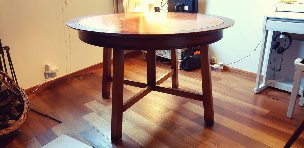 Table ronde Hêtre massif +2 rallonges 0 Le Petit Clamart (92)