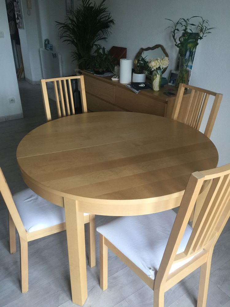 Table ronde Ikea extensible  300 Tarbes (65)