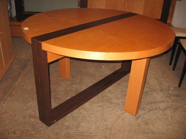 Table ronde moderne + allonge Meubles