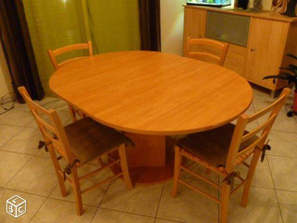 Achetez Table Ronde Ovale Occasion Annonce Vente A Le Poire Sur