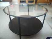 table ronde plateau verre 20 Meyzieu (69)