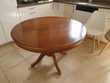 Table ronde + rallonge 100 Jonquières-Saint-Vincent (30)