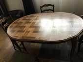 table ronde style Louis XV  250 Paris 15 (75)