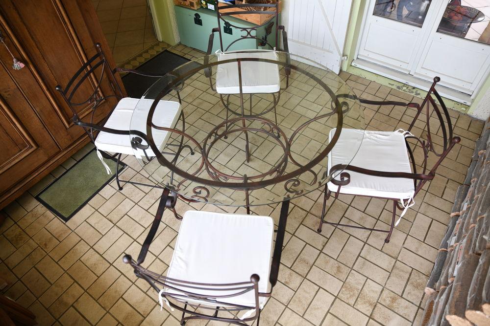 Table ronde en verre 350 Fargues (33)