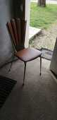 Table ronde vintage formica  100 Cercoux (17)