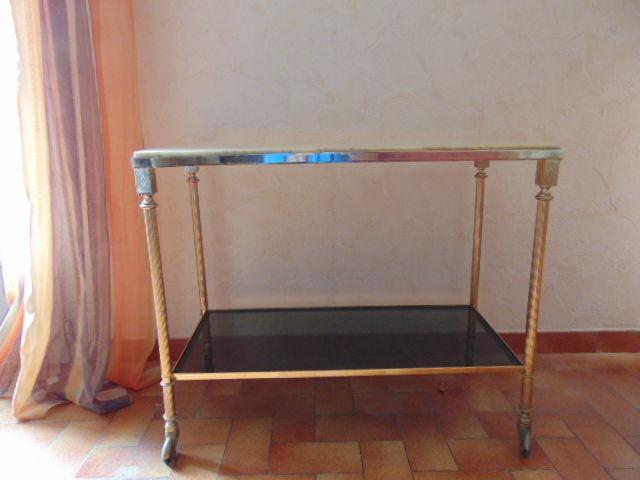 Table sur roulette en marbre 35 Gabaston (64)