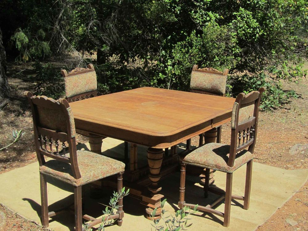 Table rustique +4 chaises assorties 0 Le Val (83)