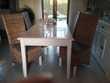 Table salle avec 4 chaise rotin  180 Crèvecœur-le-Grand (60)