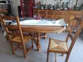 Table salle à mangé avec 4 chaises 90 Vitré (35)
