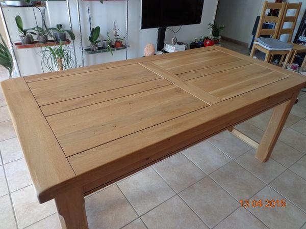 Achetez table salle manger occasion annonce vente l for Table salle manger chene massif