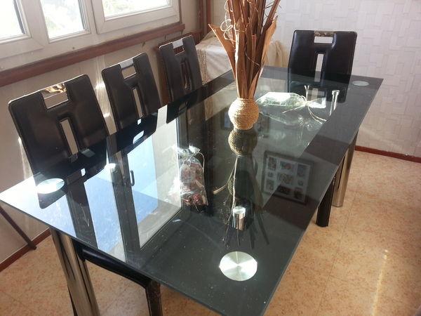 Achetez table de salle occasion annonce vente maisons for Centre de table salle a manger