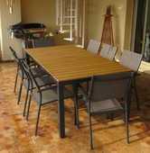 TABLE SALLE A MANGER EXTÉRIEUR + 8 FAUTEUILS 395 Nice (06)