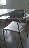 TABLE SALLE A MANGER OU CUISINE + 4 CHAISES 195 Grans (13)