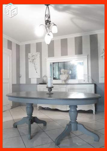 Table Salle U0026agrave; Manger De Charme Tendance Meubles