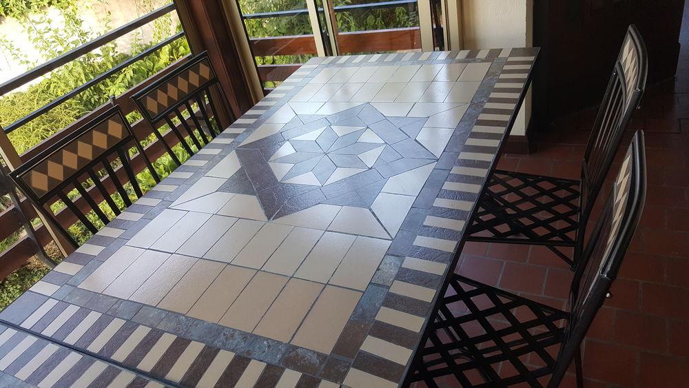 Table de salle à manger en fer forgé 250 Solaize (69)