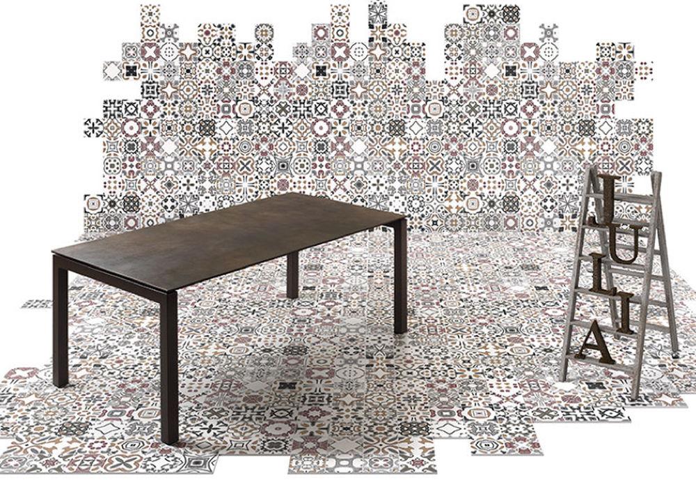 Table Salle A Manger Extensible Plateau Ceramique
