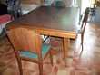 Table de Salle à manger + 6 chaises bois 'Vintage'