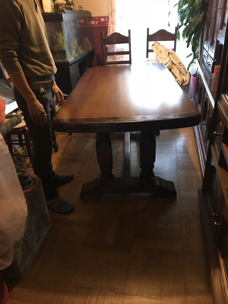 Achetez table de salle occasion annonce vente stains for Table de salle a manger 15 couverts