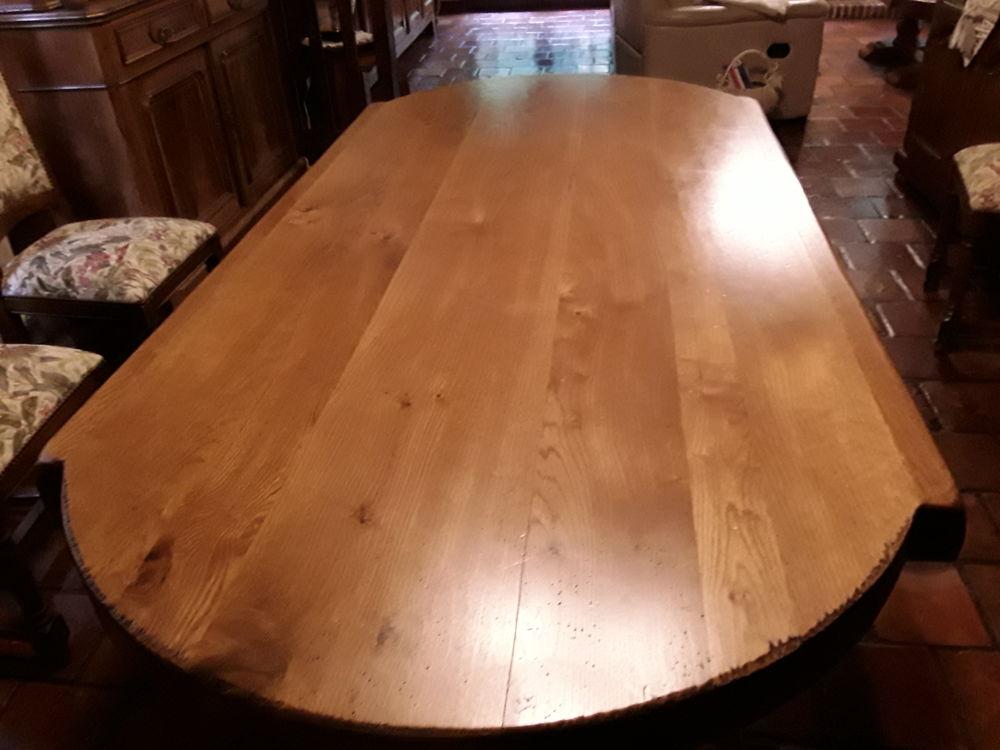 table salle a manger chene massif comme neuve 850 Saint-André-de-l'Eure (27)