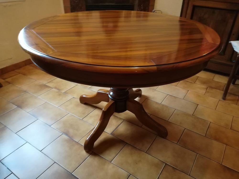 table de salle à manger ronde, style Louis Philippe  250 Pélissanne (13)