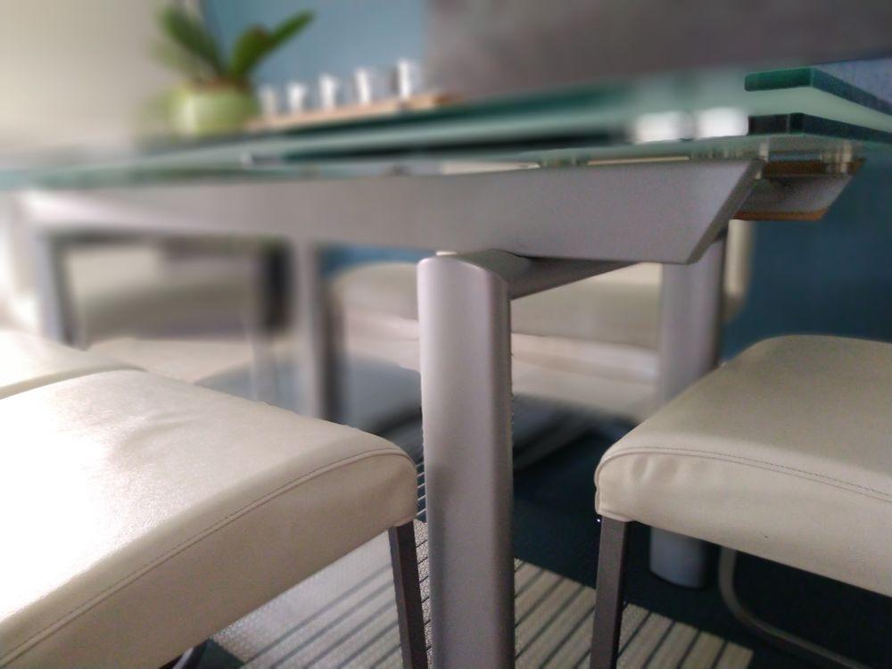 Table de salle à manger en verre 380 Rohrwiller (67)