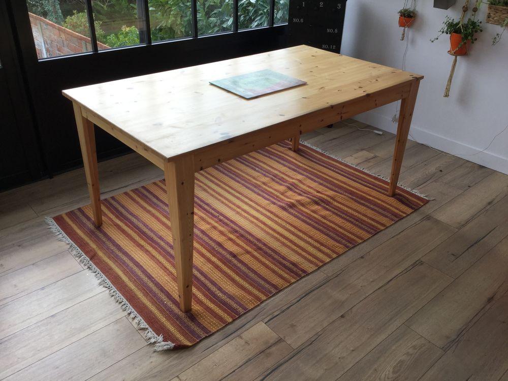 Table de salle à manger en pin massif avec rallonge 95 Eaubonne (95)