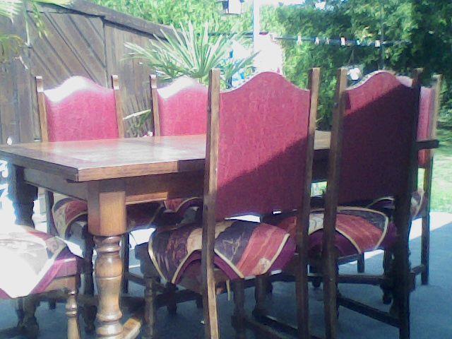 table de salle a manger + 6 chaises 70 Beaufort (59)