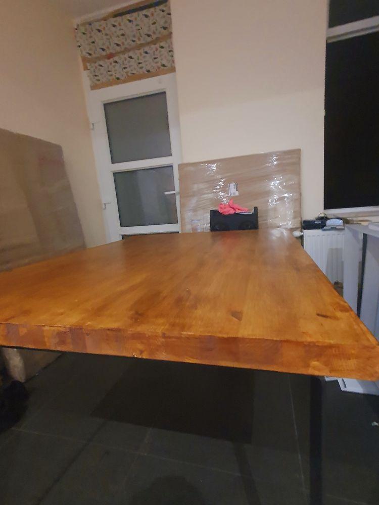 Table de salle à manger en  BOIS Massif neuf 400 Lille (59)