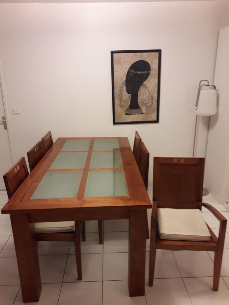 Table salle à manger et 6 chaises 800 Marseille 8 (13)